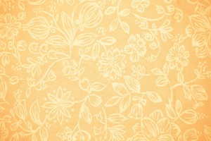Peach Colored Fabric with Floral Pattern Texture - Free High Resolution Photo