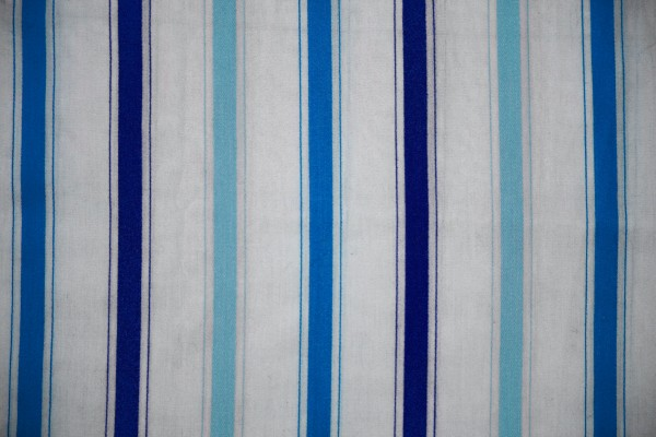 Striped Fabric Texture Blue on White - Free High Resolution Photo