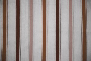 Striped Fabric Texture Brown on White - Free High Resolution Photo