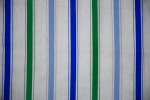Striped Fabric Texture Green and Blue on White - Free High Resolution Photo