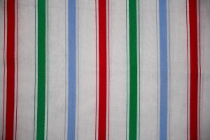 Striped Fabric Texture Green, Blue and Red on White - Free High Resolution Photo