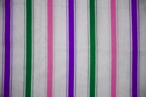 Striped Fabric Texture Green, Pink and Purple on White - Free High Resolution Photo