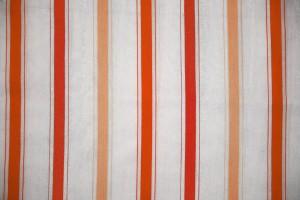 Striped Fabric Texture Orange on White - Free High Resolution Photo