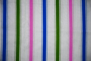 Striped Fabric Texture Pink, Green and Blue on White - Free High Resolution Photo