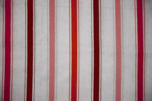 Striped Fabric Texture Red on White - Free High Resolution Photo