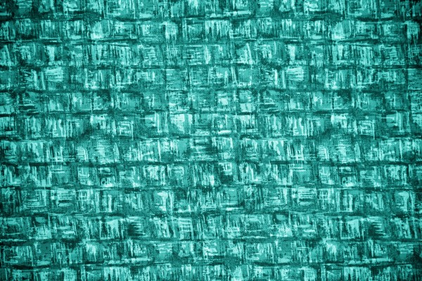 Turquoise Abstract Squares Fabric Texture - Free High Resolution Photo