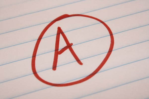 Grade A School Letter Grade - Free High Resolution Photo
