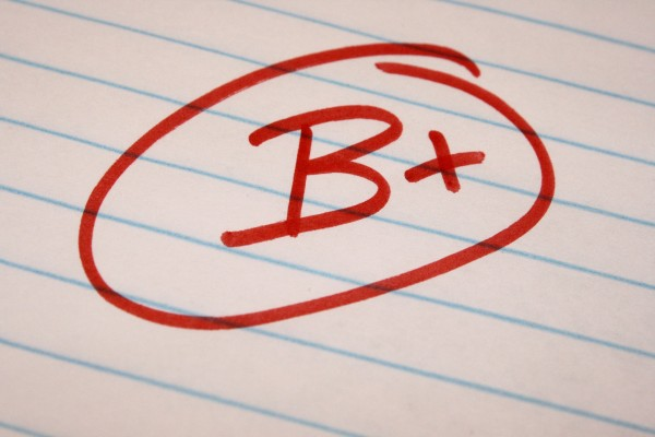 B Plus School Letter Grade - Free High Resolution Photo