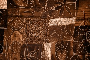 Brown Patchwork Fabric Texture - Free High Resolution Photo