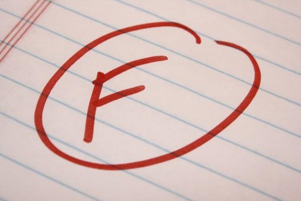 F School Letter Grade - Fail - Free High Resolution Photo