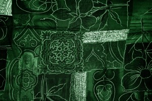 Green Patchwork Fabric Texture - Free High Resolution Photo