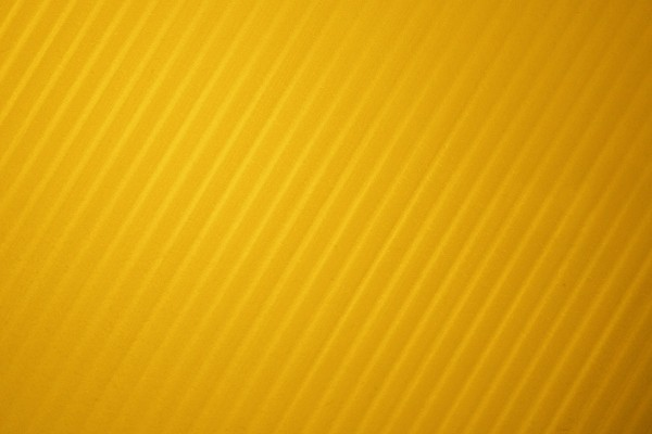 Marigold Yellow Diagonal Striped Plastic Texture - Free High Resolution Photo