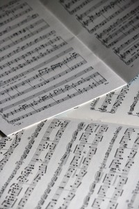 Printed Sheet Music - Free High Resolution Photo
