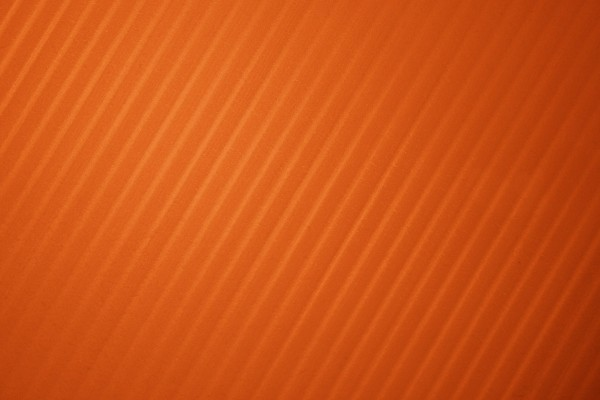 Pumpkin Orange Diagonal Striped Plastic Texture - Free High Resolution Photo