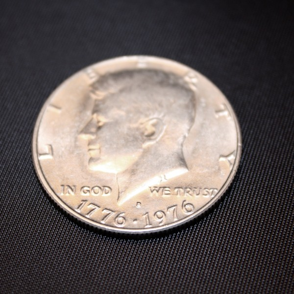 US Bicentennial 50 Cent Coin - Free High Resolution Photo