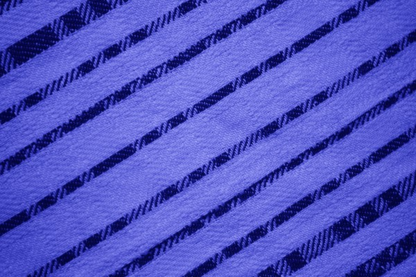 Blue Diagonal Stripes Fabric Texture - Free High Resolution Photo