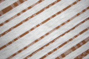 Brown on White Diagonal Stripes Fabric Texture - Free High Resolution Photo