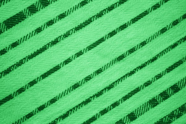 Green Diagonal Stripes Fabric Texture - Free High Resolution Photo