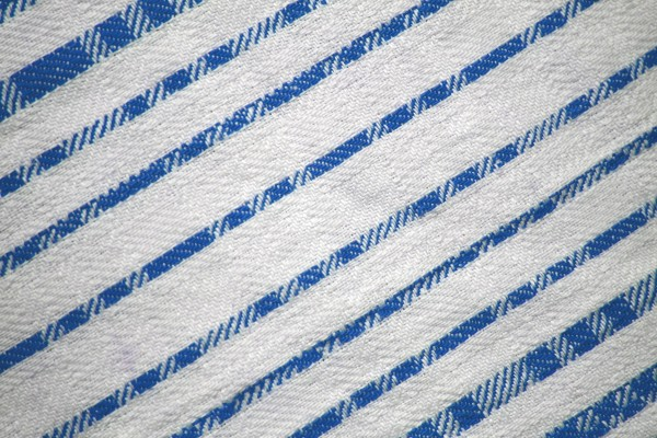 Light Blue on White Diagonal Stripes Fabric Texture - Free High Resolution Photo