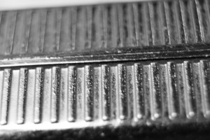 Metal Ridges Macro Texture - Free High Resolution Photo