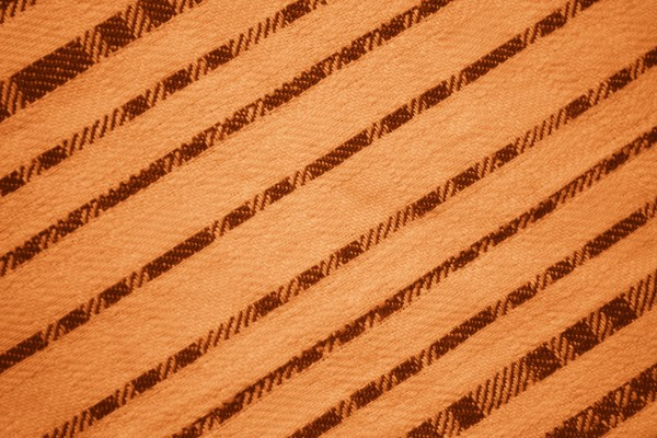 Orange Diagonal Stripes Fabric Texture - Free High Resolution Photo