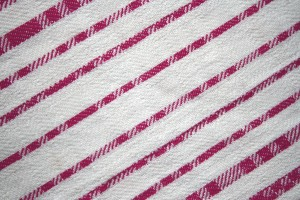 Pink on White Diagonal Stripes Fabric Texture - Free High Resolution Photo