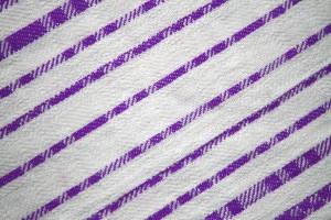 Purple on White Diagonal Stripes Fabric Texture - Free High Resolution Photo