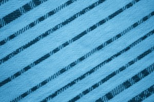 Sky Blue Diagonal Stripes Fabric Texture - Free High Resolution Photo