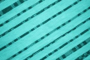 Teal Diagonal Stripes Fabric Texture - Free High Resolution Photo