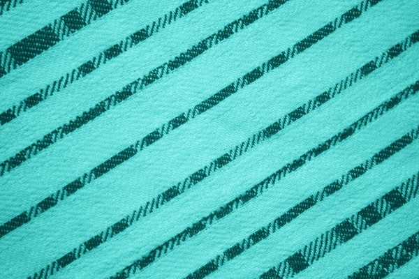 Teal Diagonal Stripes Fabric Texture - Free High Resolution Photo