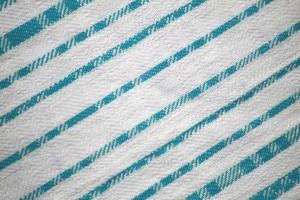 Teal on White Diagonal Stripes Fabric Texture - Free High Resolution Photo