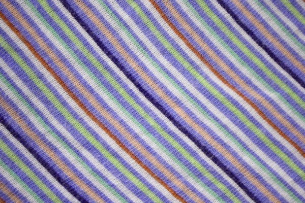 Diagonally Striped Knit Fabric Texture - Indigo, Green and Peach - Free High Resolution Photo