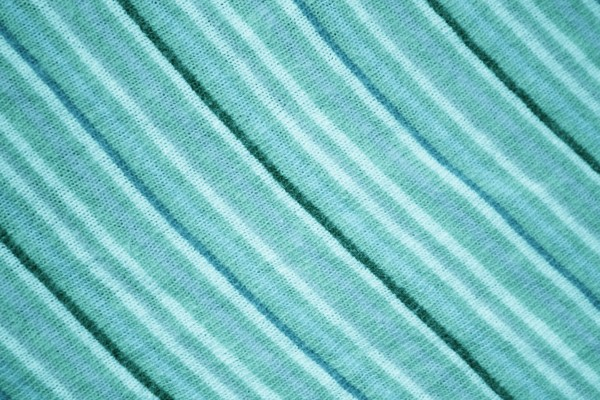 Diagonally Striped Teal Knit Fabric Texture - Free High Resolution Photo