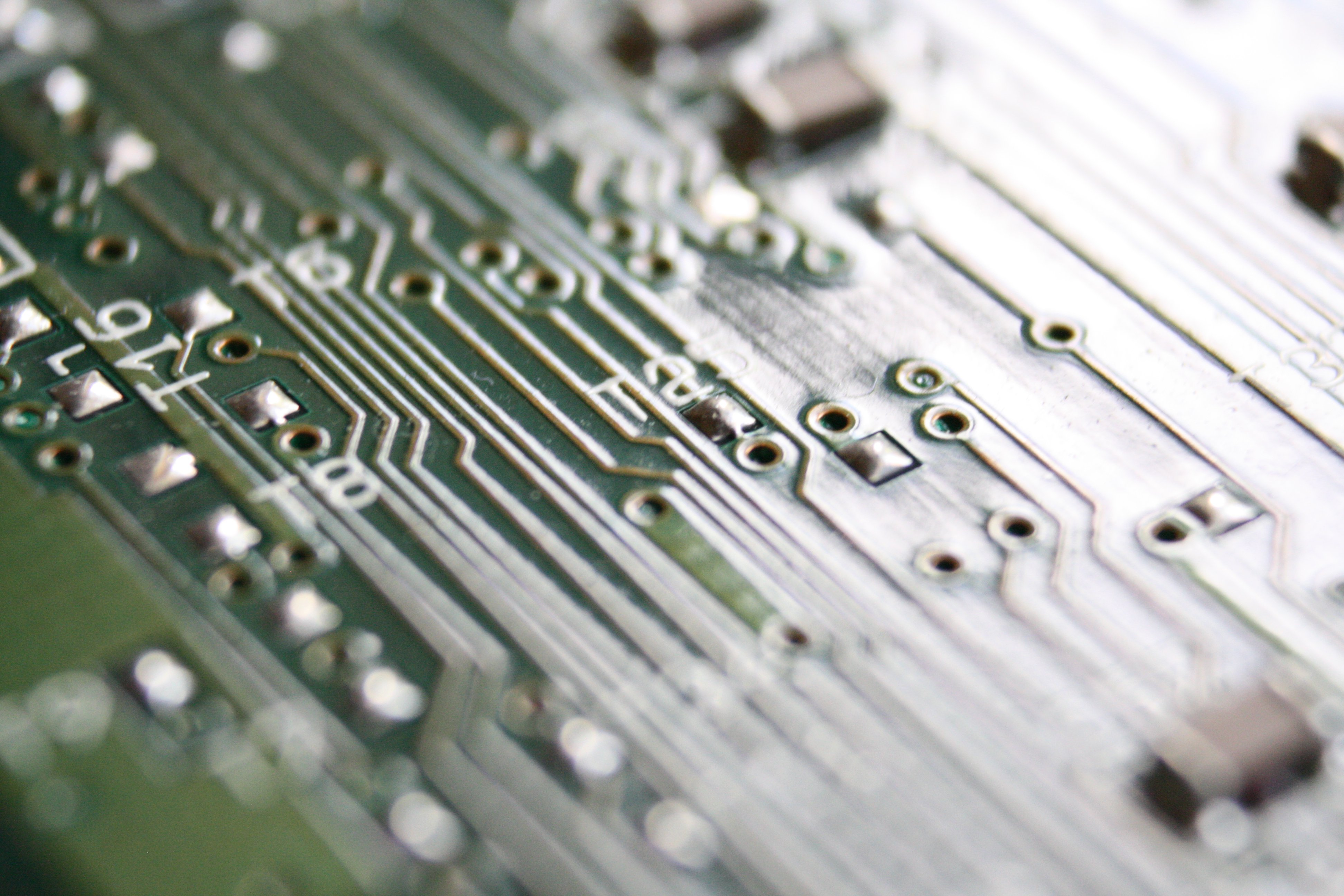 Integrated Circuit Board Close Up Photos Public Domain Images Of