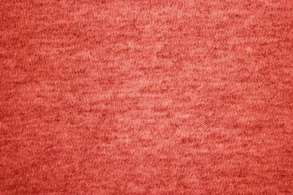Red Heather Knit T-Shirt Fabric Texture - Free High Resolution Photo