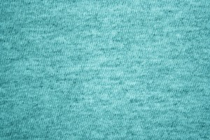 Teal Heather Knit T-Shirt Fabric Texture - Free High resolution Photo