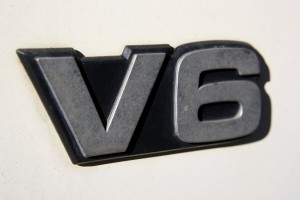 V6 - Symbol from a Truck with a V6 Engine - Free High Resolution Photo