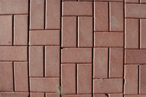 Red Brick Pavers Sidewalk Texture - Free High Resolution Photo