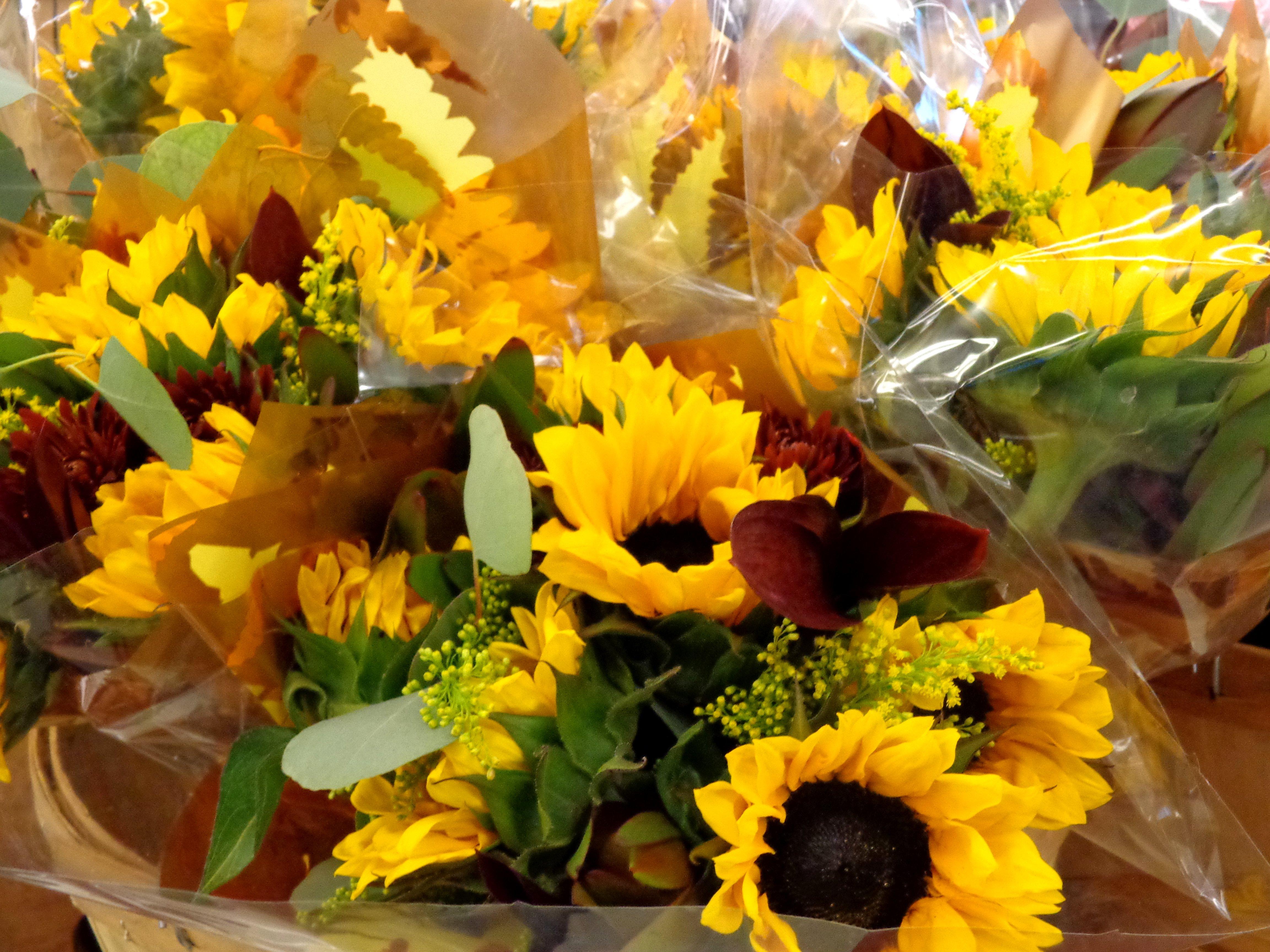 Autumn Flower Bouquets Picture Free Photograph Photos Public Domain