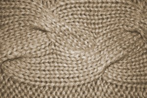 Beige Cable Knit Pattern Texture - Free High Resolution Photo