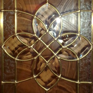 Beveled Stained Glass Decorative Star Panel - Free High Resolution Photo