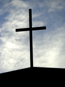 Christian Cross with Sky in Background - Free High Resolution Photo