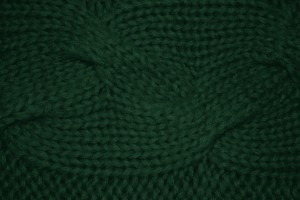 Forest Green Cable Knit Pattern Texture - Free High Resolution Photo