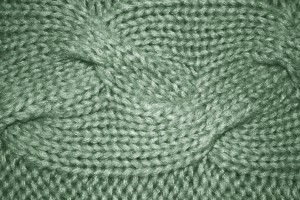 Sage Green Cable Knit Pattern Texture - Free High Resolution Photo