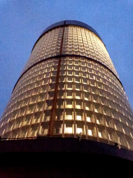 Glass Brick Tower - Free High Resolution Photo
