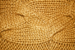 Gold Cable Knit Pattern Texture - Free High Resolution Photo