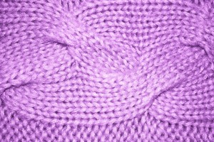 Lavender Cable Knit Pattern Texture - Free High Resolution Photo