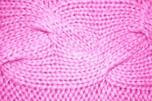 Pink Cable Knit Pattern Texture - Free High Resolution Photo