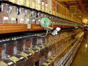 Bulk Foods Aisle in Grocery Store - Free High Resolution Photo