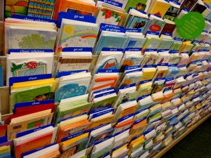 Greeting Card Display in Store - Free High Resolution Photo